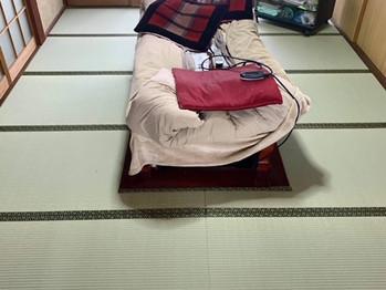 新畳入替:縁付き畳(熊本県産畳表)