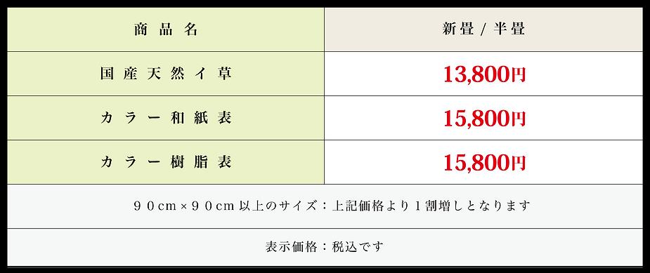 滋賀県彦根市,畳屋,畳店,北村畳店,縁なし畳,琉球畳,価格,料金