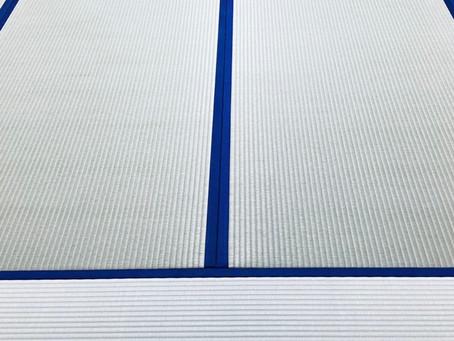 農林水産大臣賞間近の畳表織り師さんの作品で新畳納品!