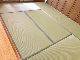 畳だけのつもりが、お部屋をリフォーム