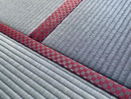 香りのとても良い熊本八代産の畳