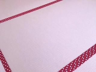 ピンク色が可愛い和紙畳表