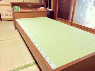 寝汗でカビが生えてしまったベッド畳の畳替え