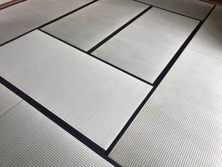 表替え / 33畳のお部屋&床の間(龍鬢表)
