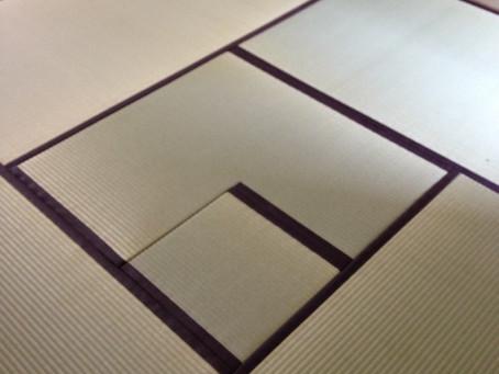 熊本県八代産、一番草に麻縁での新畳