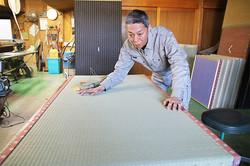 畳の製作②