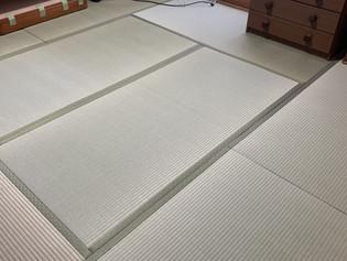 寝室の畳替え