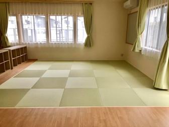 新築された坂田児童クラブ室