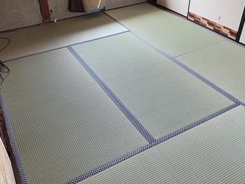 新畳:縁付き畳