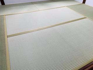 新畳 / 熊本産畳表「夕凪」(経糸:麻綿、三番草)