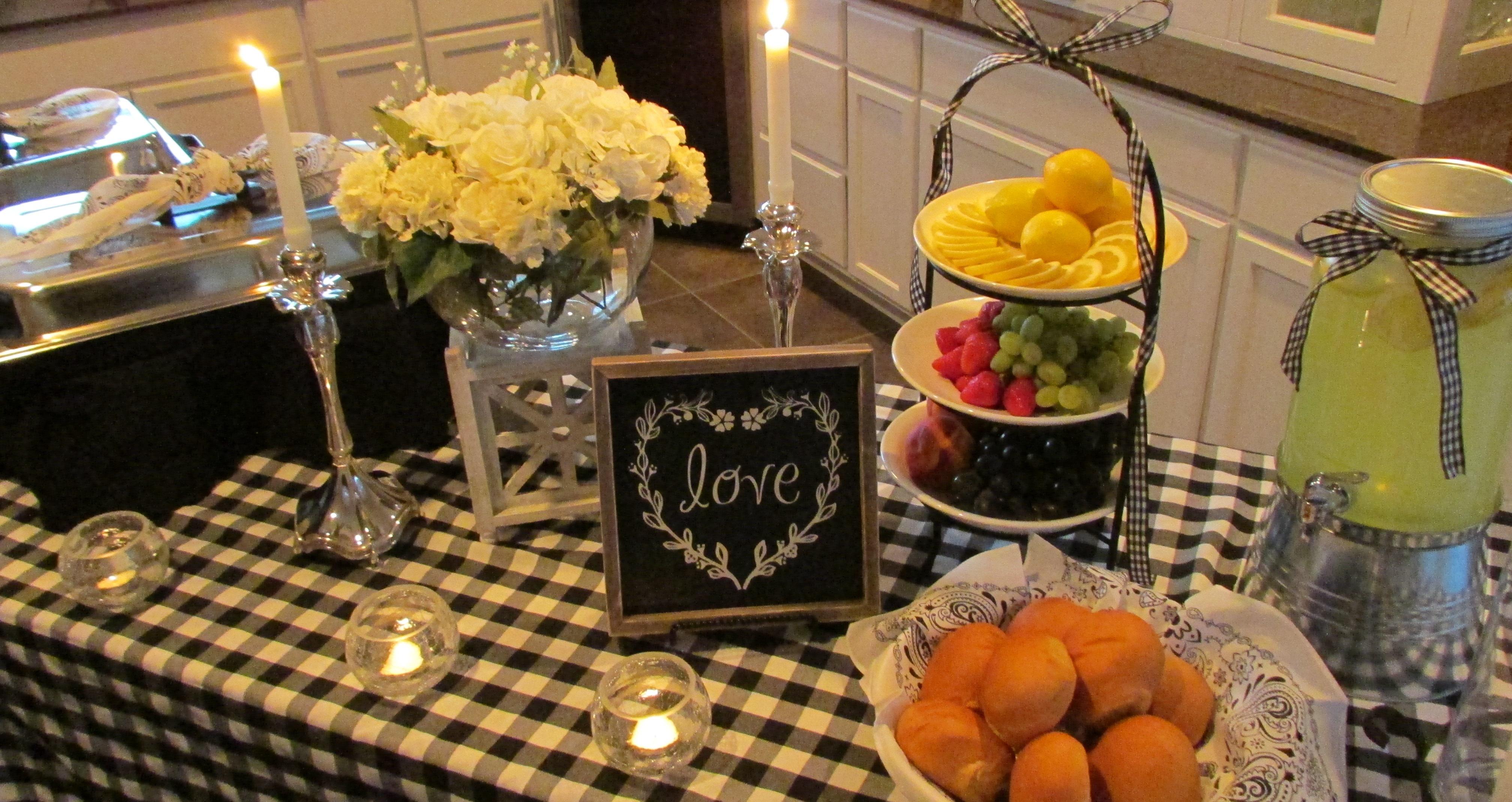 BBQ Wedding Setting