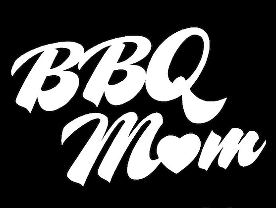 BBQ Mom- Black