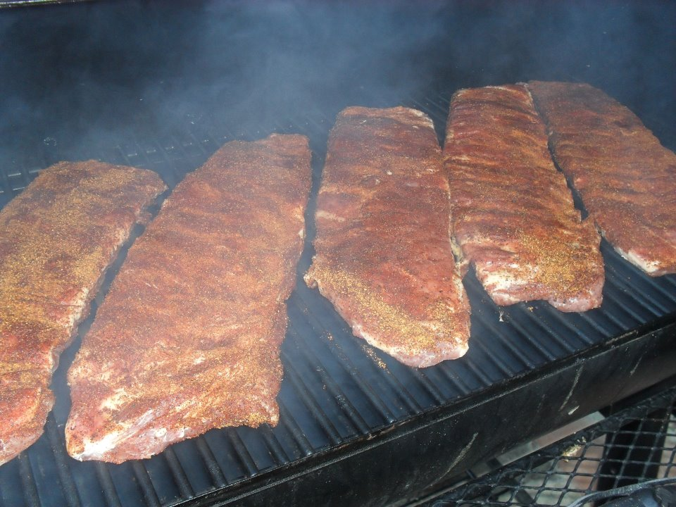 ribs in the smoker.jpg