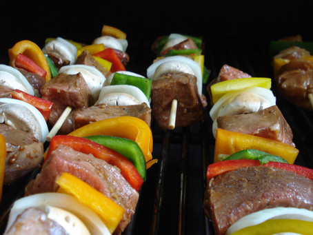 Beef and Chicken KaBobs