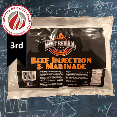 Meat Revival Beef Injection and Marinade