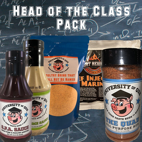 Head of the Class Pack