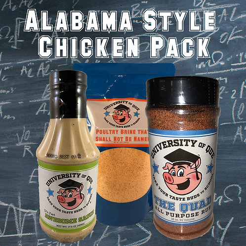 Alabama Style Chicken Pack
