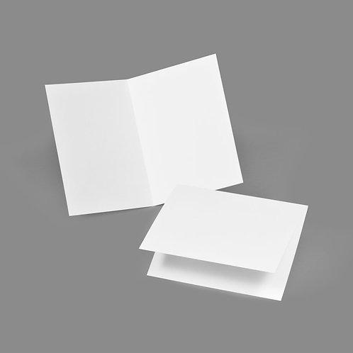 Folded Card - Classic 4x5 Landscape