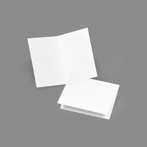 Folded Card - Classic 3.5x5 Landscape