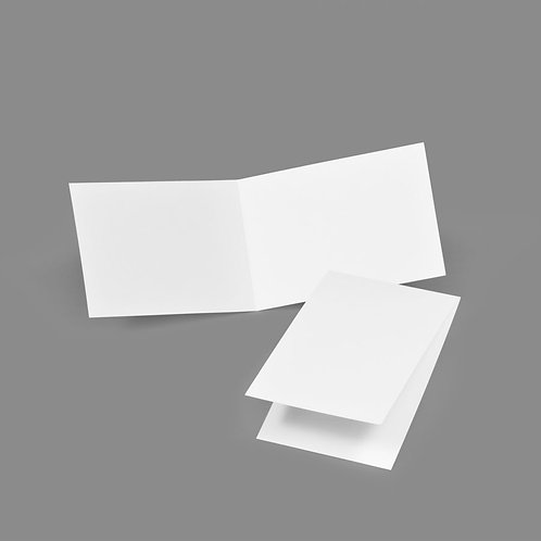 Folded Card - Classic 3.5x5 Portrait