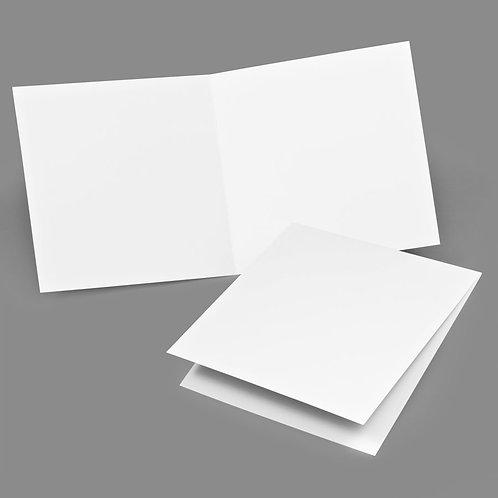 Folded Card - Classic 7x7