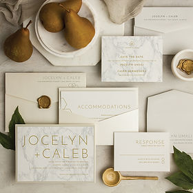 Contemporary_Marble_wedding_invitation