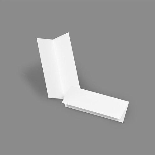 Folded Card - Classic 1x4 Landscape