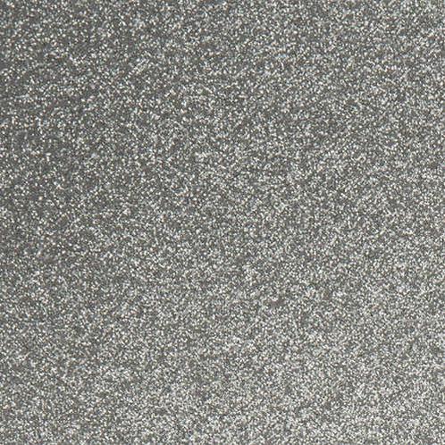 Glitterati Silver/White
