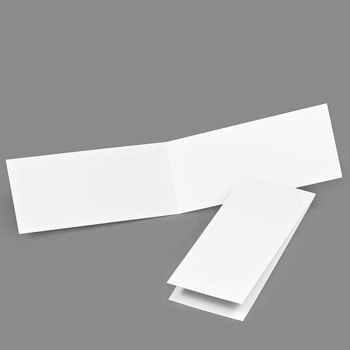 Folded Card - Classic 4x9 Portrait