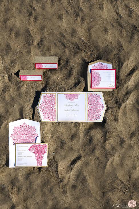 Pink Desert Sands