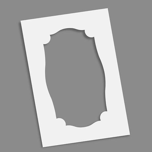 Frame - Crest 6x9