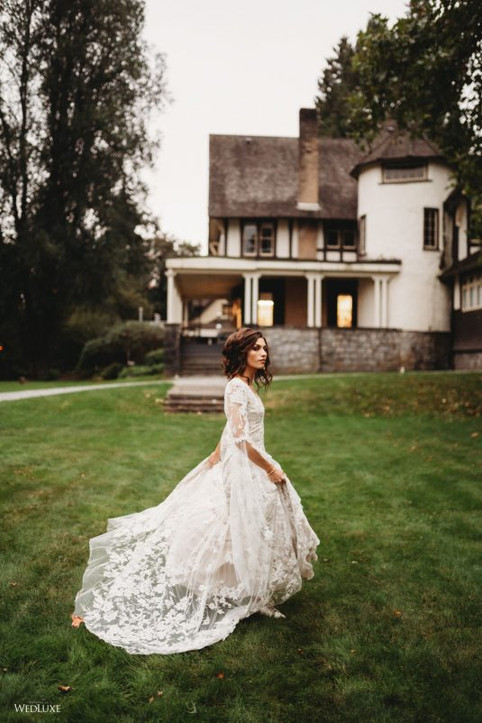 outdoor-fall-autumn-lace-vintage-wedding