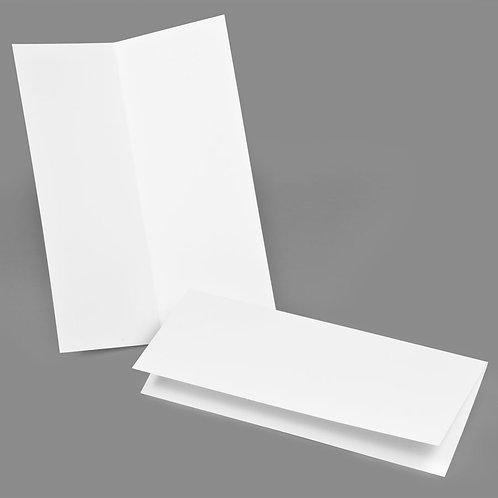Folded Card - Classic 4.25x11 Landscape