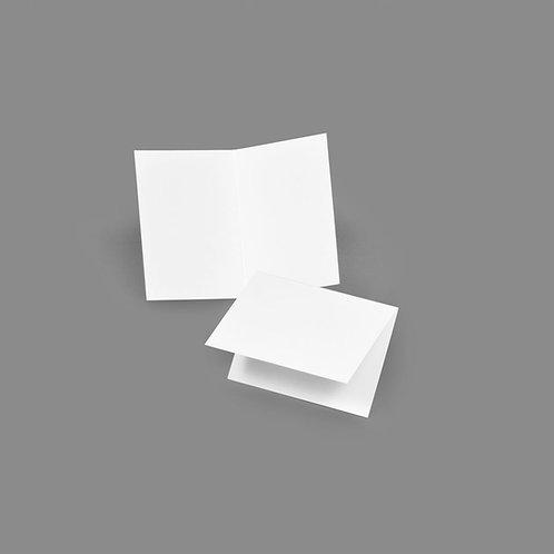 Folded Card - Classic 2.5x3.5 Landscape