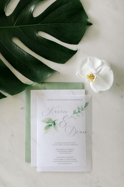 Tropical Greenery Wedding