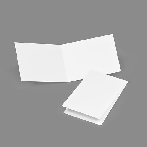 Folded Card - Classic 4x5 Portrait