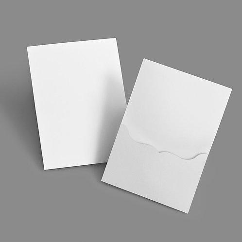 Pocket Card - Bracket 5x7 Portrait