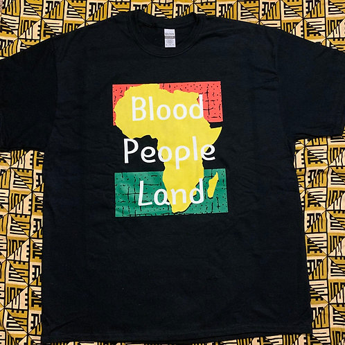 RBG Africa Tshirt, defining the colors