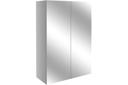 ALBA 500MM MIRR UNIT - LIGHT GREY GLOSS