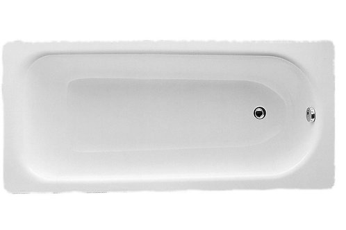 STEEL SINGLE END 1700X700 2TH BATH WITH GRIPS & ANTI-SLIP