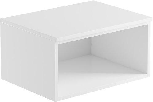 CARINO 600MM WALL MOUNTED OPEN UNIT - WHITE GLOSS