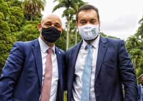 Advogado, músico, compositor, cantor e agora governador, Cláudio Castro revela sua trajetória