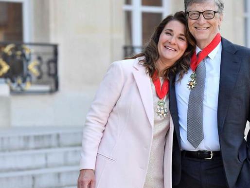 Bill e Melinda Gates vão divociar-se