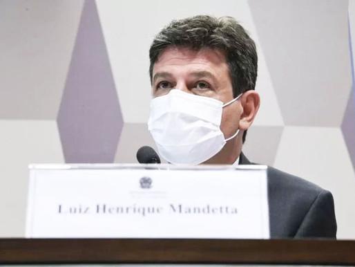 Guedes é um homem pequeno, afirma ex-ministro Mandetta em CPI da Covid