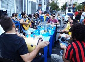 Prefeitura libera rodas de samba no Rio