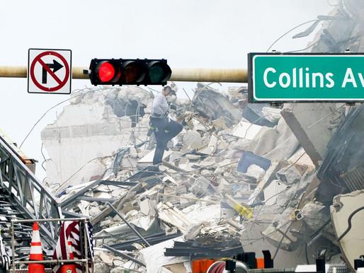 Miami busca 159 pessoas nos escombros após desabamento que causou ao menos quatro mortes
