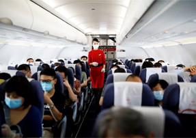 Risco de exposição ao coronavírus em aviões é muito baixo, mostra estudo dos EUA
