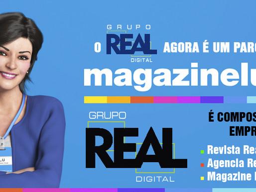 Magazine Luiza e Revista Real Notícias: parceria digital ao seu alcance