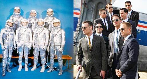 Os eleitos e Projeto Mercury revivem a corrida espacial em ficção e em documentário