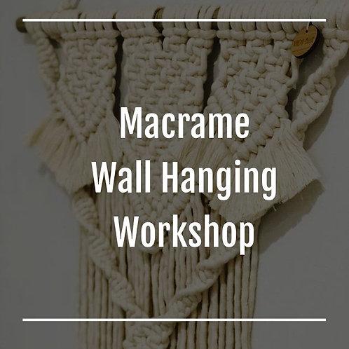 Saturday 7th November 1pm  | Beginner Wall Hanging Workshop